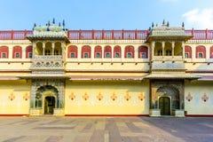 Chandra Mahal in City Palace, Jaipur, India Stock Photo