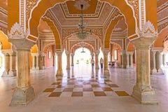 Chandra Mahal in City Palace Royalty Free Stock Photos