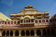 Chandra Mahal. City Palace. Jaipur. Rajasthan. India Royalty Free Stock Images