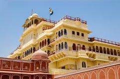 Chandra Mahal in Jaipur Lizenzfreie Stockfotos