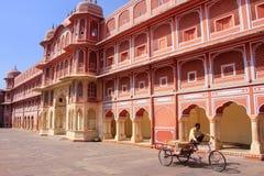 Chandra Mahal in Jaipur City Palace, Rajasthan, India Stock Images