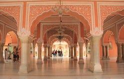 Chandra Mahal (palácio da cidade). Fotos de Stock Royalty Free