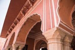 Chandra Mahal Sculptures Fotografie Stock Libere da Diritti
