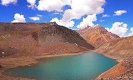 Chandra Tal Sacred Lake Royalty Free Stock Photography
