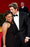 Chandra Wilson and Patrick Dempsey Royalty Free Stock Photography