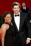 Chandra Wilson and Patrick Dempsey Royalty Free Stock Image