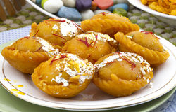 Chandrakala sweet Stock Photography