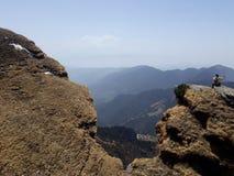 Chandrashilla Trek Royaltyfri Foto