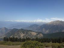 Chandrashilla Trek Fotografering för Bildbyråer