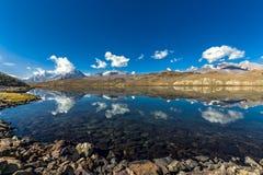 Chandrataal湖 免版税库存图片