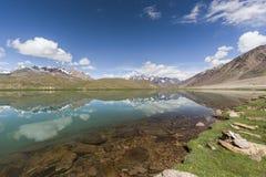 Chandrataal jezioro Obrazy Stock