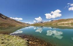 Chandrataal sjö Arkivfoton