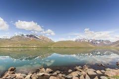 Chandrataal sjö Royaltyfria Bilder
