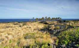 Chaîne de paysage de route de cratères Photo libre de droits