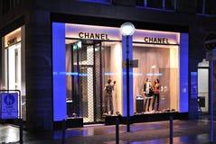 Магазин способа Chanel Стоковое Изображение