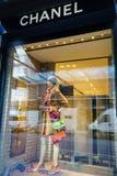 Chanel armazena imagem de stock royalty free