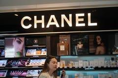Chanel armazena imagem de stock