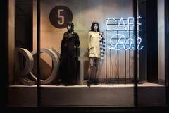 Chanel boutique showcases. Kiev, Ukraine Royalty Free Stock Photo