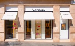 3e4ba104b Chanel Brand Store In Barcelona, Spain Editorial Photography - Image of  brand, classic: 127719027