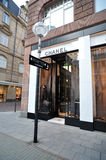 Chanel fashion store in Frankfurt Stock Image