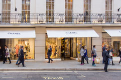 Chanel flagship London store Stock Photo
