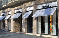 Chanel flagship store Stock Images