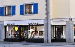 Chanel flagship store, Chamonix, France Stock Photo