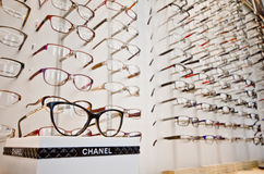 Chanel frames on display Royalty Free Stock Image