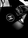 Chanel logo abstract - Mobile phone photography Stock Image