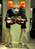 chanel mody sklep Fotografia Stock