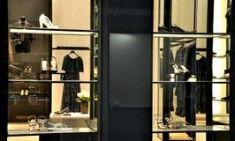 chanel mody sklep Obrazy Royalty Free