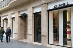 Chanel robi zakupy Zdjęcie Stock