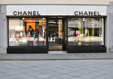 Chanel store in Chamonix, France Royalty Free Stock Photo