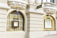 Chanel store front in Monte Carlo,Monaco Stock Photography