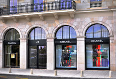 Chanel store, Geneve Stock Image