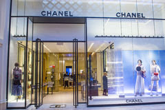 Chanel store Stock Images