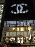 Chanel store in Tokyo Stock Photos