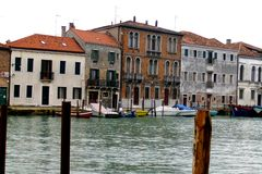 Chanel in Venedig Stockbilder