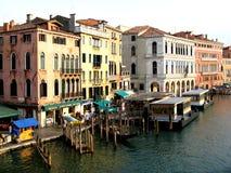 Chanel in Venedig gondel Lizenzfreie Stockbilder