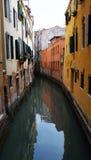 Chanel in Venice. Narrow empty chanel in Venice, Italy Stock Photo