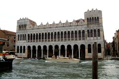 Chanel  in Venice Royalty Free Stock Images