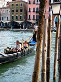 Chanel  in Venice. Gondola ride Stock Photography