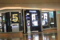 Chanel-winkel in Hongkong Stock Foto's