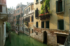 Chanell in Venedig Stockbilder