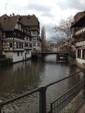 Chanels en Estrasburgo Imágenes de archivo libres de regalías