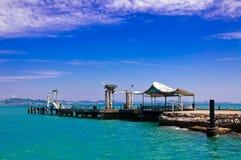 chang酸值泰国船 免版税图库摄影