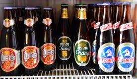 Chang, Archa και μπύρα Ταϊλάνδη του Leo Στοκ φωτογραφίες με δικαίωμα ελεύθερης χρήσης