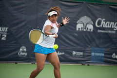 Chang ITF Pro Circuit 2012 ( ITF Woman's Circuit ) Royalty Free Stock Photography