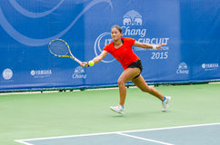 Chang ITF Pro Circuit 2015 Royalty Free Stock Images