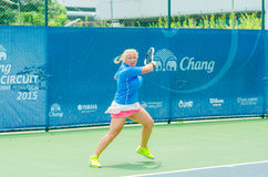 Chang ITF Pro Circuit 2015 Royalty Free Stock Photography